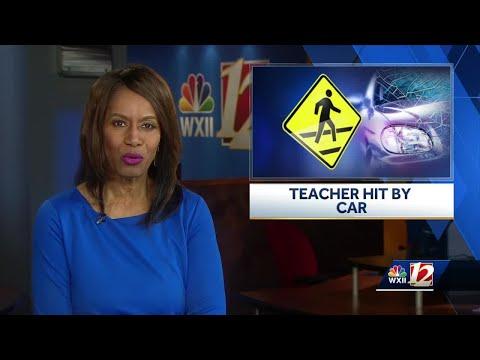 Teacher struck by motorist outside Wallburg Elementary School