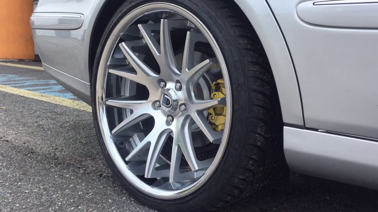 "Mercedes Benz Lease >> 2003 Mercedes-Benz E320 Sitting on Staggered 20"" Asanti ABL-3's @ RimTyme Hampton - YouTube"