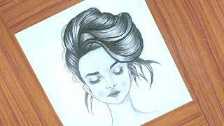 drawing hairstyle step