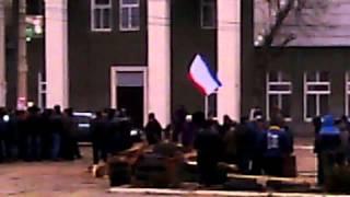 Площадь Ленина город Джанкой Крым  26.02.2014 .Сегодня  в городе  спокойно(, 2014-02-26T15:52:56.000Z)