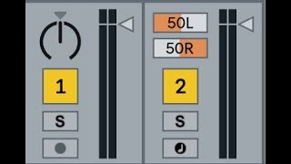 Panning in Ableton Live 10