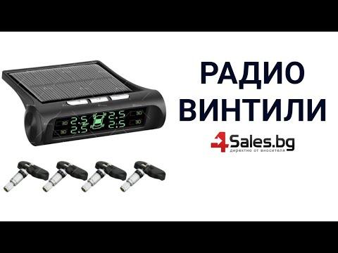 Безжична мини TPMS система за мониторинг на налягането в гумите GUMI ALARM3 15