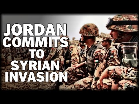 JORDAN COMMITS TO SYRIAN INVASION