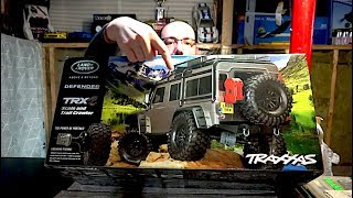 Finally got a Traxxas TRX4! Unboxing and Review of my Traxxas Land Rover Defender - Netcruzer RC