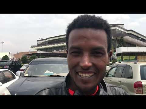 Menge arrives in Kigali  Rwanda
