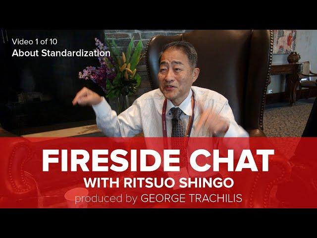 Ritsuo Shingo talks about Standardization
