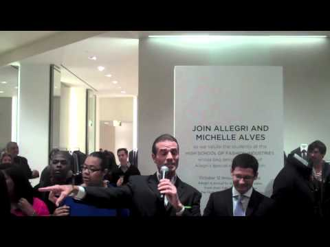 Allegri Fashion Event & Michelle Alves at Saks