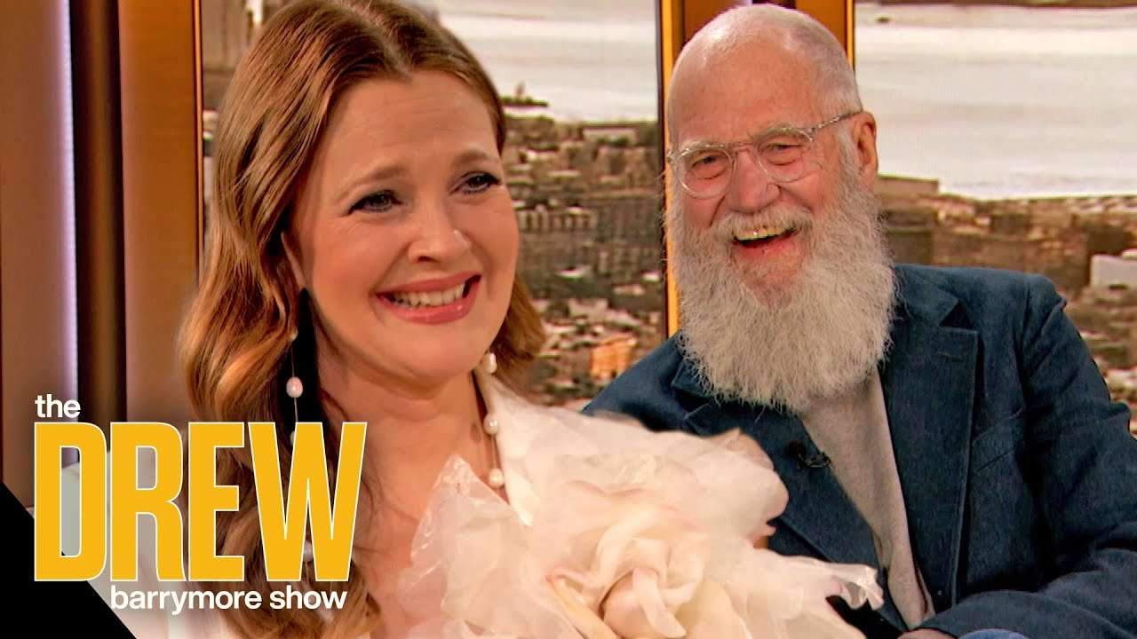 David Letterman Brings Drew to Tears with an Epic Zoom Birthday Surprise Prank