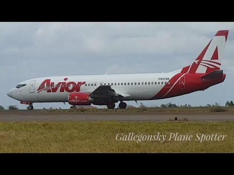 Avior airlines YV3158 Takeoff de Pto Ordaz Radio On