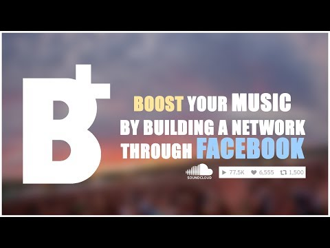Boost Your SoundCloud w/ Facebook Networking