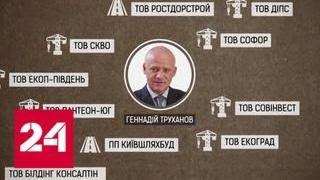 Украина под красивыми лозунгами в политику лезет старый криминал   Россия 24