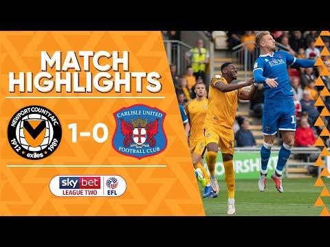 Newport County v Carlisle United highlights