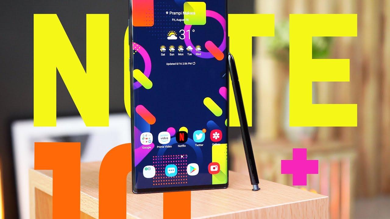 Samsung Galaxy Note 10+ Review : លើសពីស្តេចស្មាតហ្វូនប៊ិច !