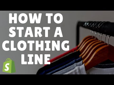 HOW TO START A SIX FIGURE CLOTHING LINE- (SHOPIFY TUTORIAL)