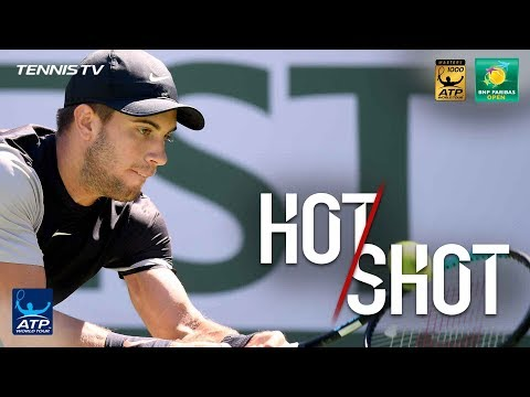 Hot Shot: Crafty Coric Lobs Over Anderson