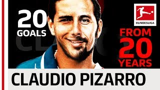 Claudio Pizarro - 20 Years 20 Goals
