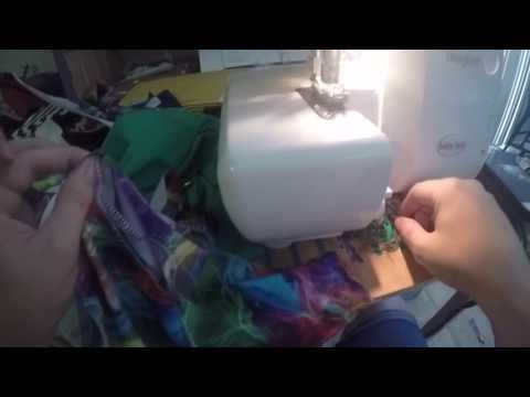 Adding gusset to peg legs/leggings