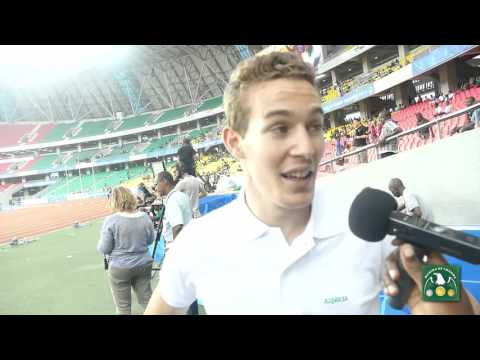 Abdelmalik Lahoulou - 2015 All-Africa Games 400m Hurdles champion