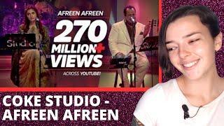 Coke Studio Season 9 | Afreen Afreen | REACTION! | Indi Rossi