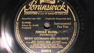 JUNGLE BLUES by Benny Goodman and his Boys 1928