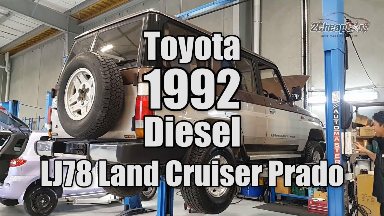 Toyota 1992 Diesel Lj78 Land Cruiser Prado