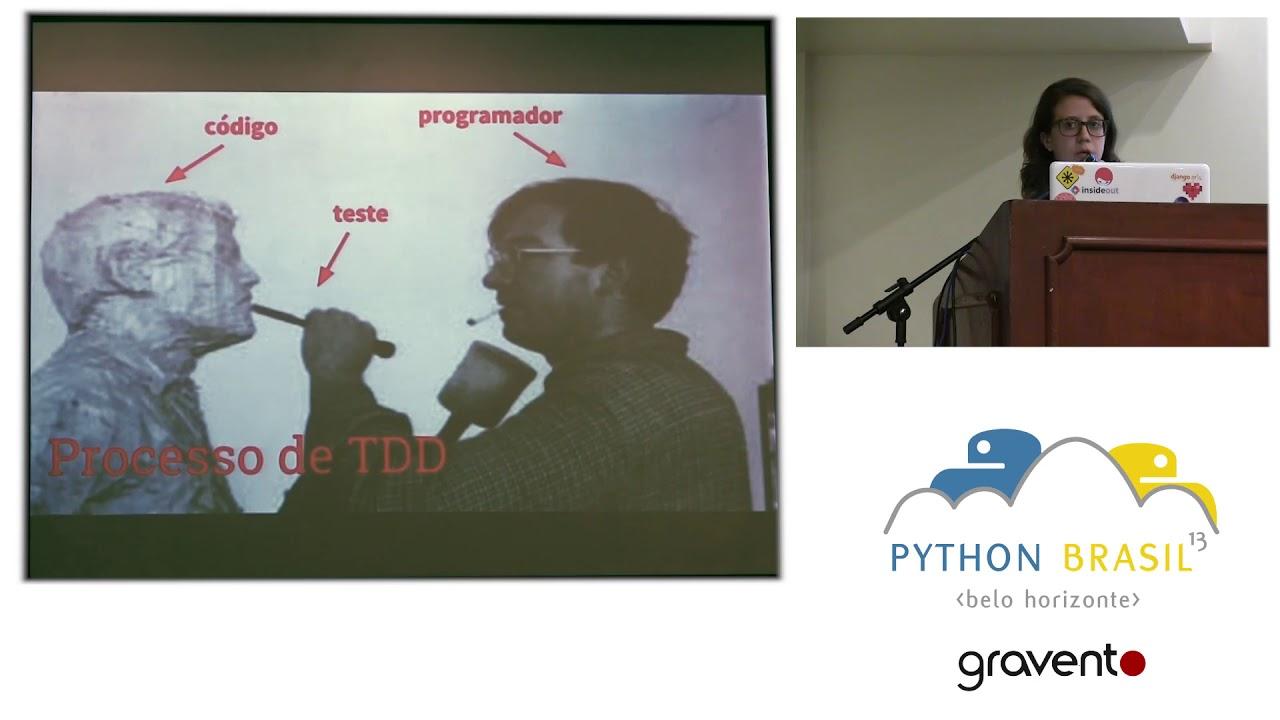 Image from Agilizando o ciclo de desenvolvimento de software com a ajuda de testes unitários - Paula Grangeiro