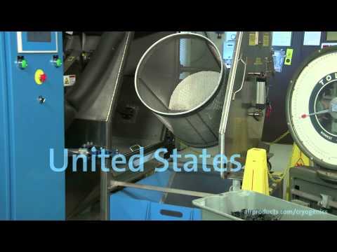 PolarFit(TM) cryogenic deflashing technology