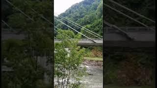 Сочи. Старая дорога водопад Пасть Дракона