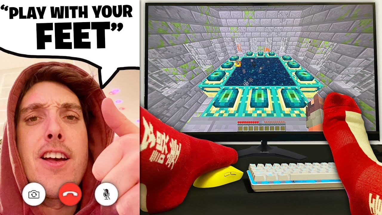I Let YouTubers Decide How I Play Minecraft.. (bad idea)