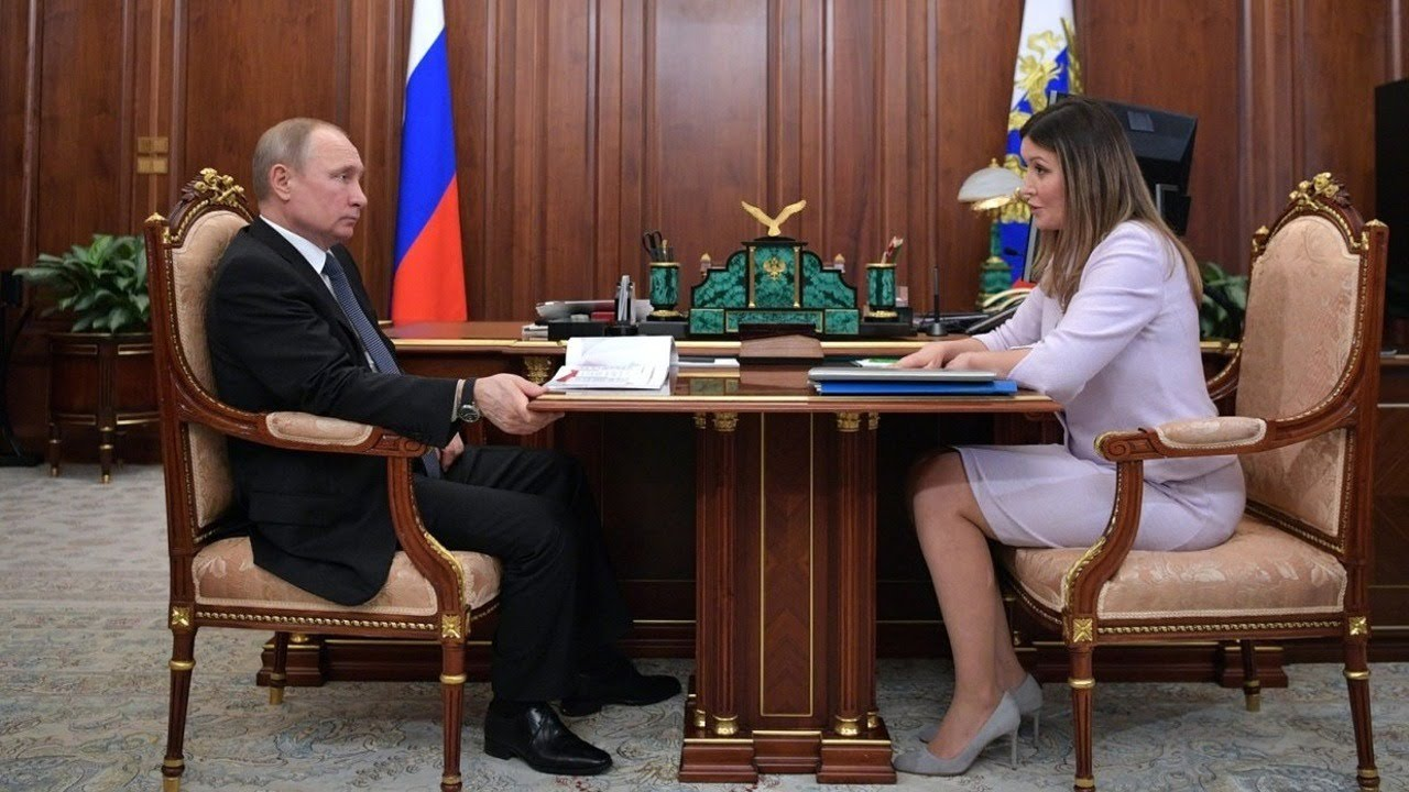 Рабочая встреча Владимира Путина с главой АСИ Светланой Чупшевой