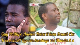 Guy Philipe voye yon gwo mesaj bay Pep la & Moun ki te fè aretel yo
