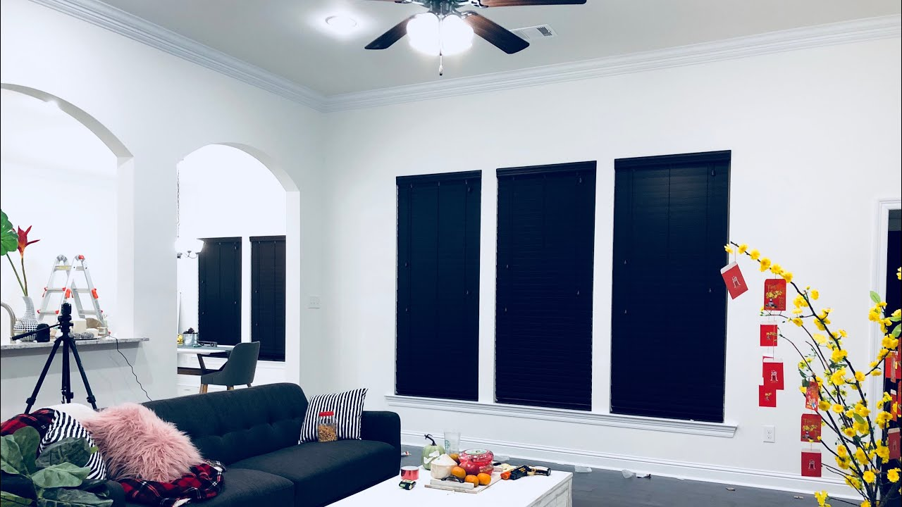 Espresso Faux Wood Window Blinds Review How To Install