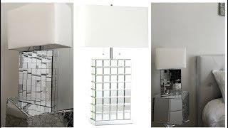 Home Decor DIY || Mirrored Table Lamp