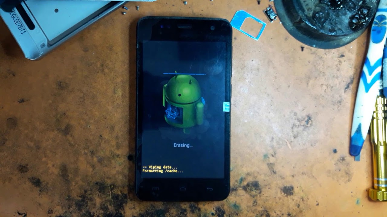Wiko Bloom Hard Rest Pattern Pin Remove