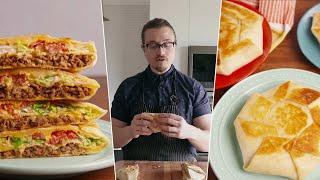I Tested Everyone's Crunchwrap Supreme - Joshua Weissman, Tasty, Sam the Cooking Guy, Delish