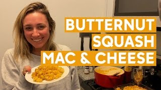 "A ""healthy"" twist on mac and cheese 
