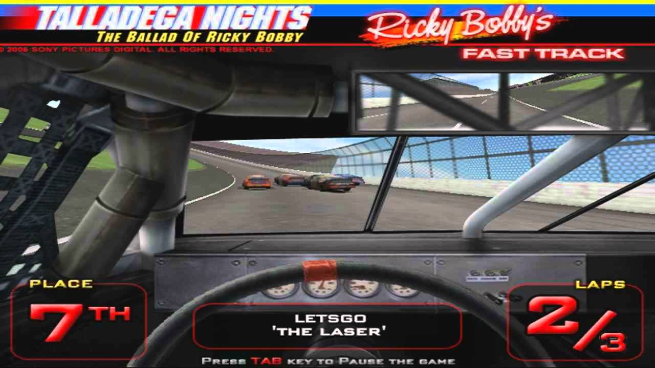 play talladega nights games online to play now youtube. Black Bedroom Furniture Sets. Home Design Ideas