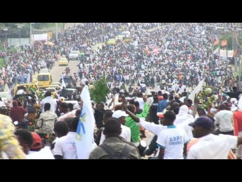 DRC: huge crowds for Kinshasa return of Tshisekedi & Kamerhe