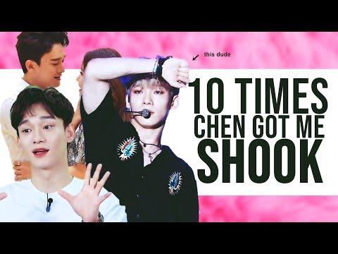 10 TIMES CHEN GOT ME SHOOK