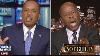 EPIC! Leo Terrell  Flips Out, Explodes At Juan Williams: