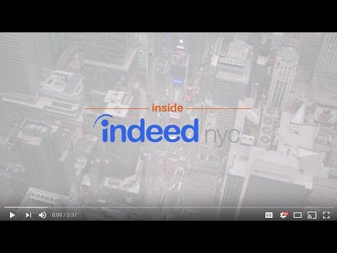 Inside Indeed - Sales In NYC