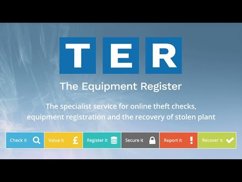 TER - The Equipment Register