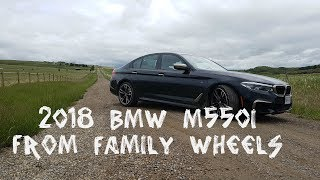 2018 BMW M550i review from Family Wheels