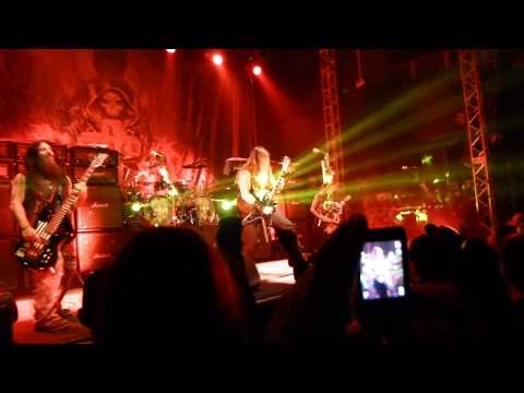 Black Label Society- The Beginning...At Last/Funeral Bell-Live O2 Academy Leeds 2015