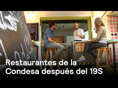Restaurantes de la Condesa a un mes del sismo del 19S