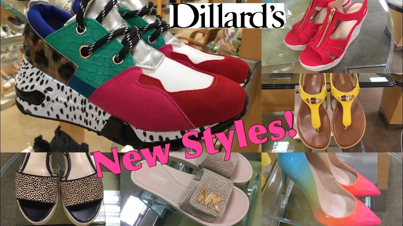 15be885c5737 Dillard's SHOP WITH ME Shoes NEW STYLES ! - YouTube