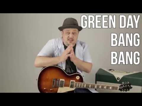 Green Day - Bang Bang - How to Play on Guitar - Guitar Lesson, Tutorial,
