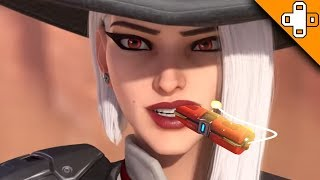 Try Not to BLOW YOURSELF UP! Overwatch Funny & Epic Moments 663