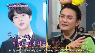 [Eng/Vietsub] Norazo Jobin talked about how he was impressed by BTS Jin on KBS Happy Together Ep.585