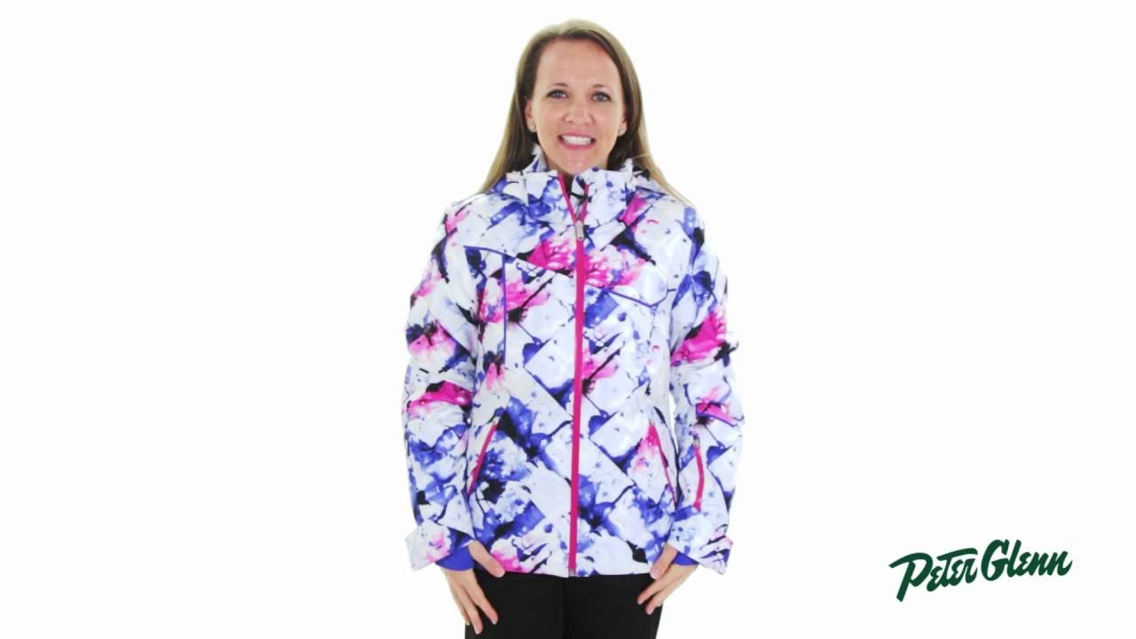 3b274cc54 2017 Spyder Women's Project Ski Jacket Review by Peter Glenn - YouTube